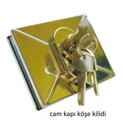 Kaye Cam Kapı Köşe Kilidi