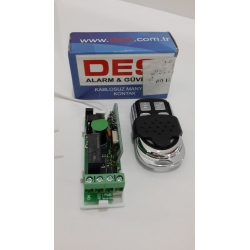 Desi Mini Reciever Kumanda Alıcısı Tetikleyici
